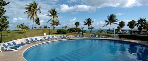 Outdoor swimming pool Dos Playas Beach House Hotel
