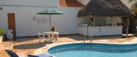 Solarium terrace Dos Playas Beach House Hotel